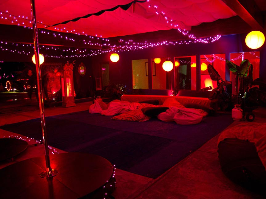 The Red Party Marrakesh House